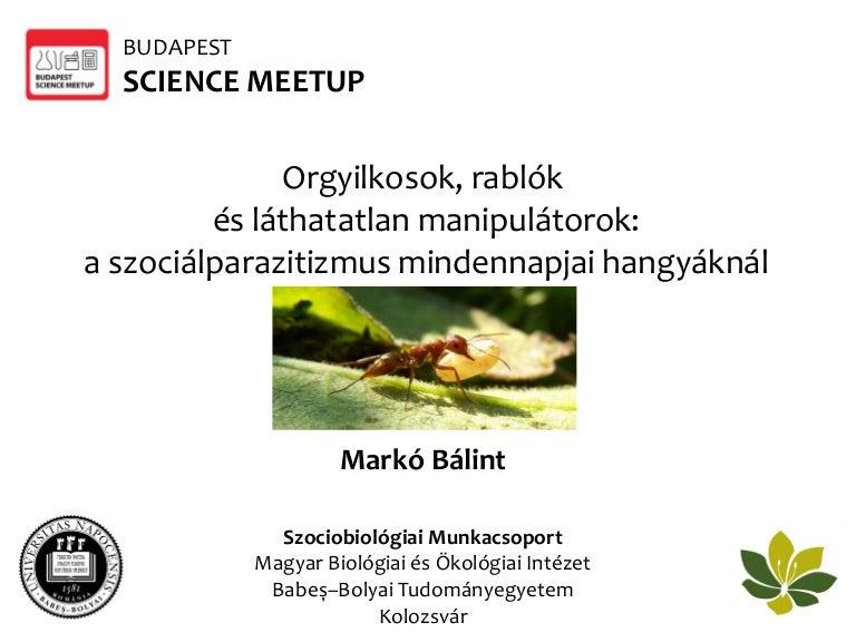 Budapest Science Meetup - Március - Budapest Science Meetup (Budapest) | Meetup