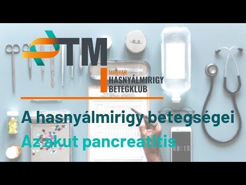 Pancreatitis és paraziták kezelése