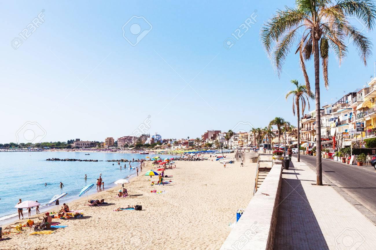 biztonságos giardini naxos strand