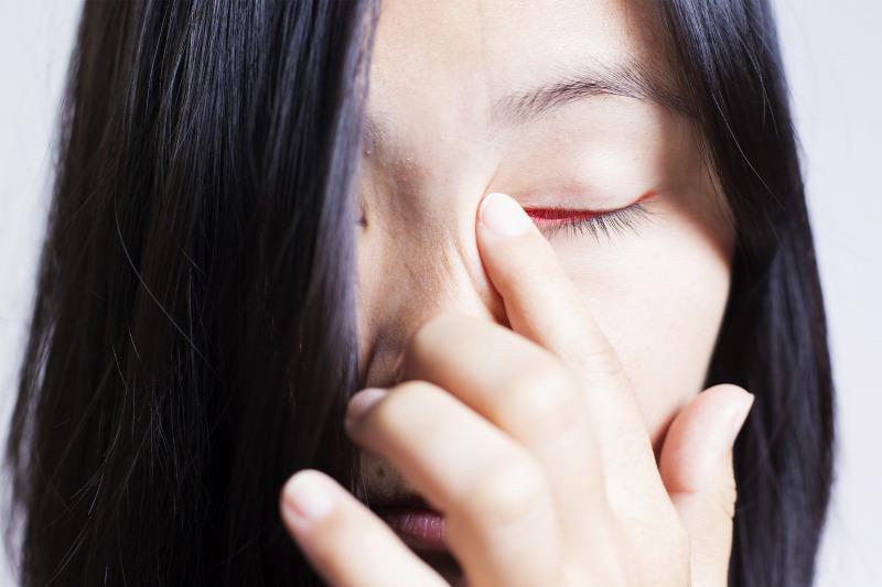 a szem megtisztítja a paraziták testét