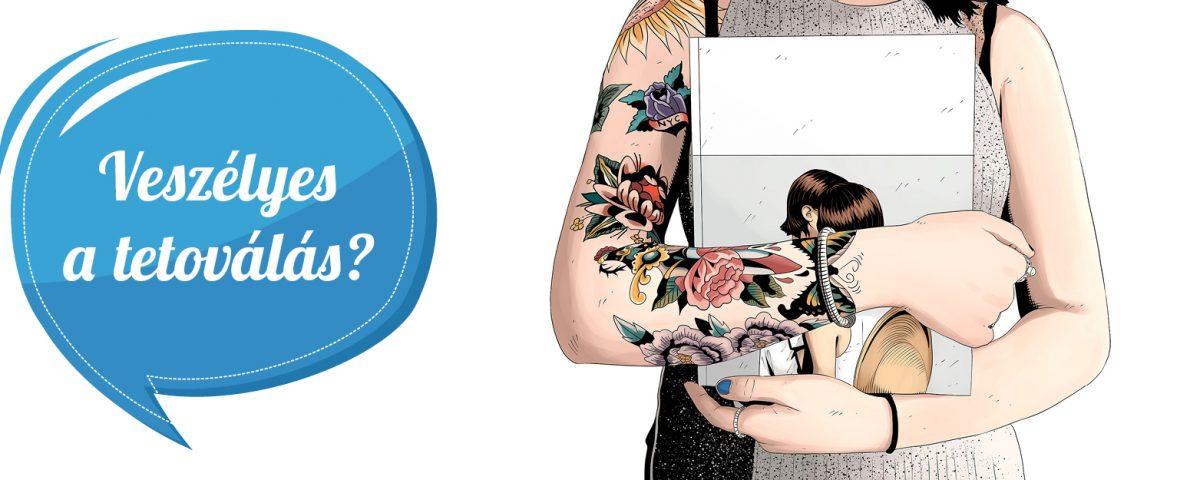 petefészekrák tetoválás
