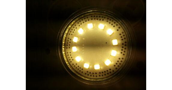 Borostyánsárga LED stroboszkóp szélvédő mögé 12V - BrillBazár