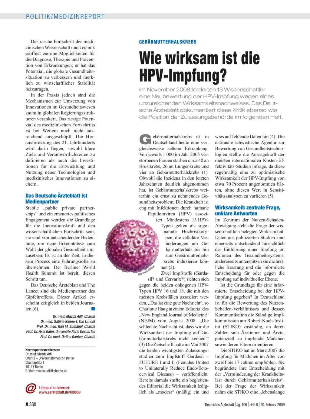 hpv impfung mit 20 a helmintikus kezelés megelőzése