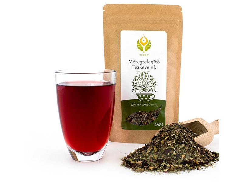 teák a szervezet méregtelenítésére vastagbél méregtelenítés sós víz