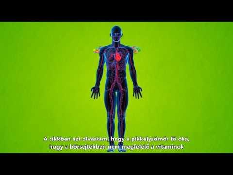 harc az emberi test parazitái ellen